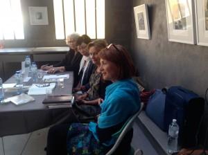 Michèle Cléach, Annemarie Trekker, France Merhan, Catherine Liabastre