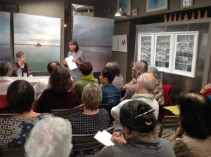 Rencontre échange avec Corinne Chaput Le Bars autour de son livre Mémoire d'Outre tombe ou le complexe de Chateaubriand